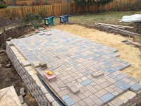 Exterior: Fascinating Pavers Home Depot For Garden Or ...