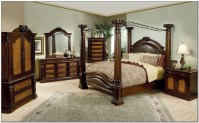 Canopy Bed Comforter Sets & New ENCHANTED TOILE FULL ...