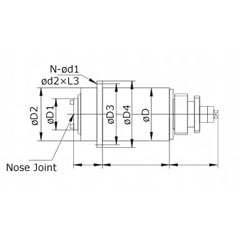 High Speed High Precision Spindle / High Frequency Spindle