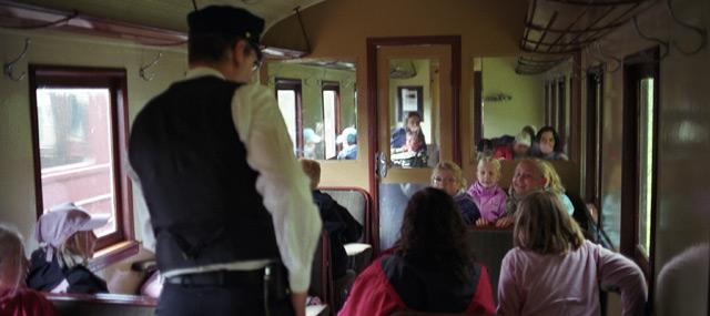 Konduktörer i vagnen. Foto: René Pabst