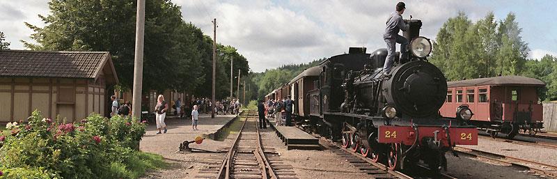VGJ 24 i väntan på avgång från Anten. Foto: René Pabst