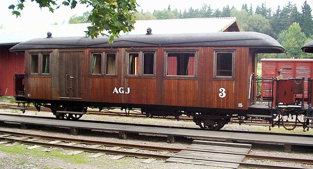AGJ vagn 15 i Anten. Foto: Patrik Engberg