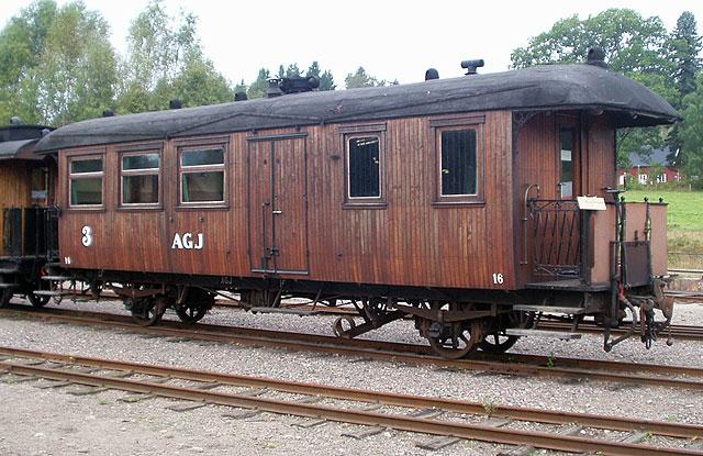 AGJ vagn 16 i Anten. Foto: Patrik Engberg
