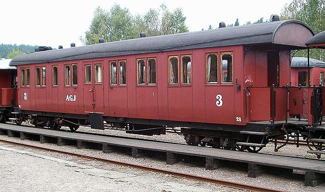 AGJ vagn 28 i Anten. Foto: Patrik Engberg