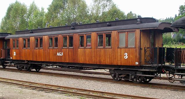 AGJ vagn 29 i Anten. Foto: Patrik Engberg