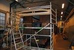 AGJ vagn 22 håller nu på att få sitt nya plattformstak. Foto: Patrik Engberg