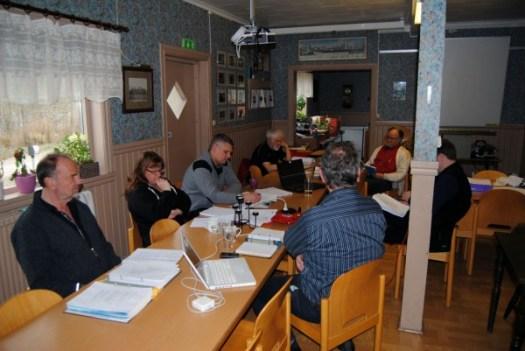 Helgens säokurs i Anten. Foto: Patrik Engberg