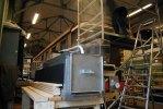 Ångmaskinen som vi använder för att kunna böja taket. Foto: Patrik Engberg
