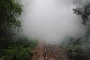 Vy efter tåget. Foto: Patrik Engberg