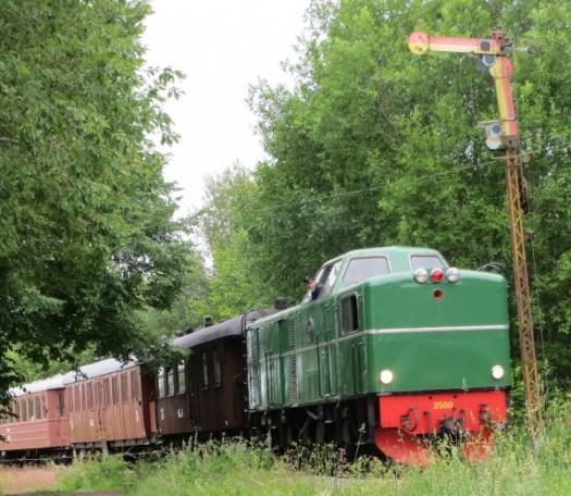 Tp vid norra semaforen i Kvarnabo 2014-06-29. Foto: Lennart Nordh