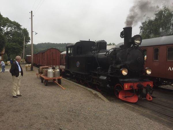 BLJ 6 med godståg. Foto: Patrik Engberg