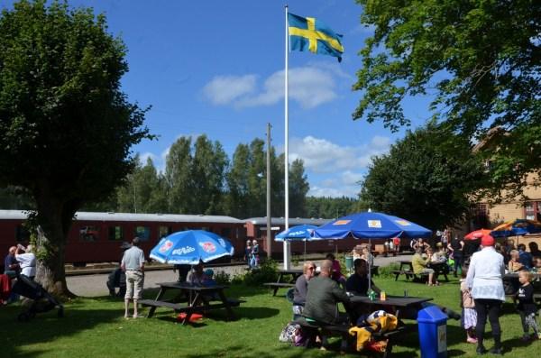 Stationsträdgården. Foto: Yngve CG