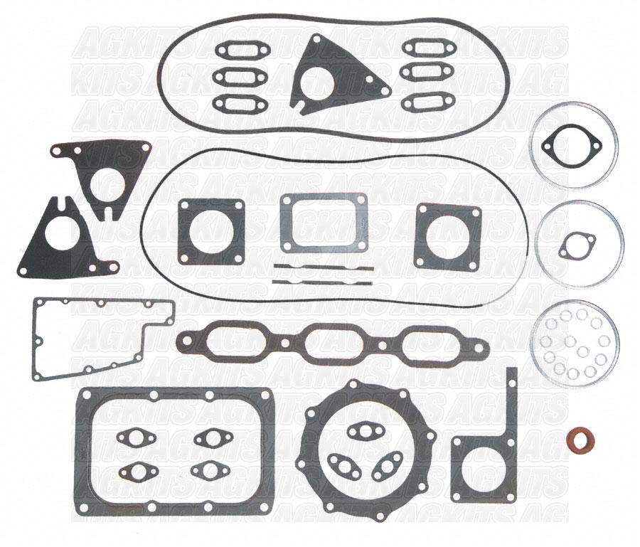 Detroit Diesel 6V92, 12V92 with Rubber valve cover