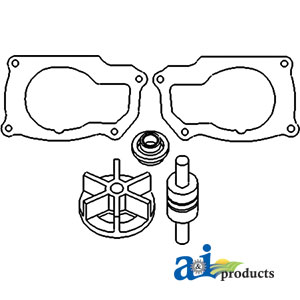 Case/International Water Pump Repair Kit 1094021R91, VPE2025