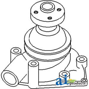 White, Oliver, Minneapolis Moline Water Pump 157324AS