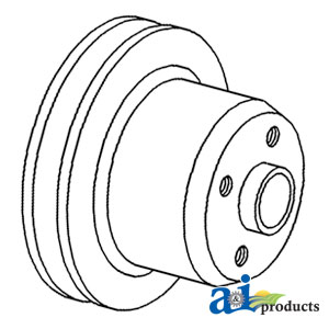 White, Oliver, Minneapolis Moline Water Pump Pulley 164451A