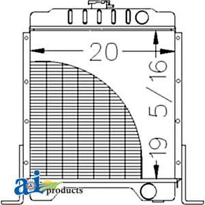 Case-IH Radiator 301877A2