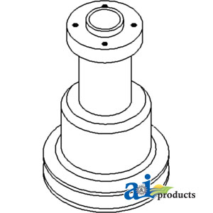 White, Oliver, Minneapolis Moline Water Pump Pulley 303061345