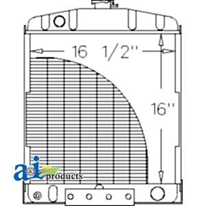 Case-IH Radiator 3107749R91