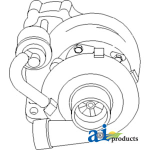 Massey Ferguson Perkins 236 Turbocharger 3637326M91