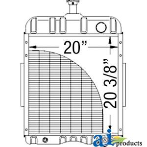 Case-IH Radiator 65427C1