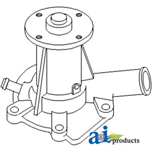 Bobcat Water Pump 6652753