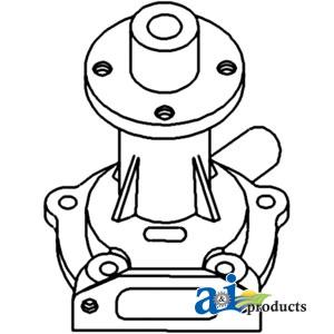 Allis Chalmers Water Pump 74023912