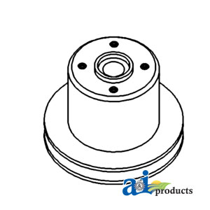 Massey Ferguson Water Pump Pulley 746727M1