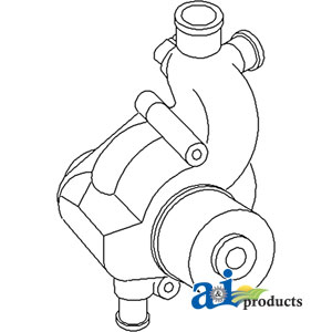 Ford Water Pump 87800490, 87801873