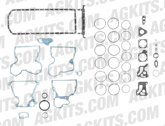 John Deere 303, 329, 359 Lower Gasket Set with Crankshaft