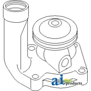 John Deere Water Pump F2244R