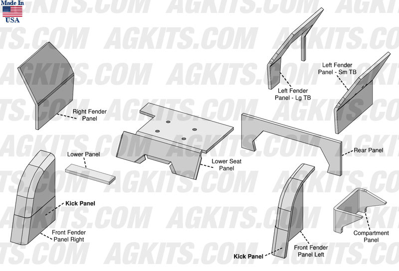 Ford Cab Upholstery Kit