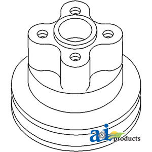 David Brown Diesel Water Pump Pulley K942475