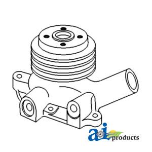Case International Water Pump K952714