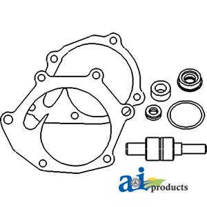 Case/International Water Pump Repair Kit K965888, VPE2020