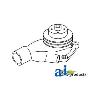 John Deere Water Pump AR36667