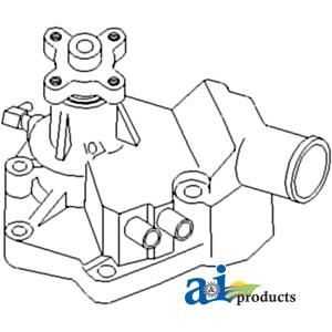 John Deere Water Pump AR65261