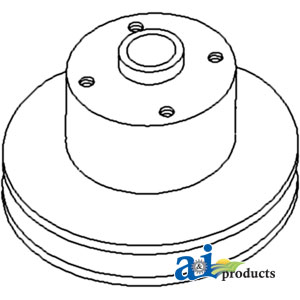 John Deere Water Pump Pulley R70444