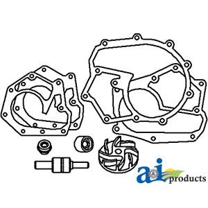 John Deere Water Pump Repair Kit RE11346