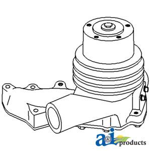 John Deere Water Pump Assembly RE70250