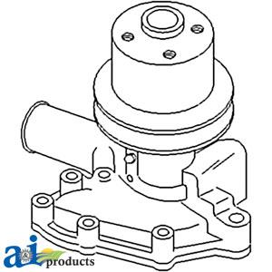 Ford Water Pump SBA145016061, SBA145016022, SW03980
