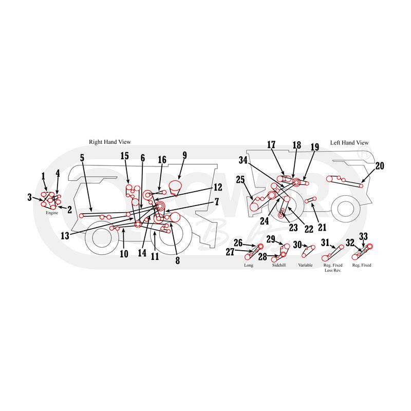 John Deere 8820 Combine Wiring Diagram Toy S690 Combine