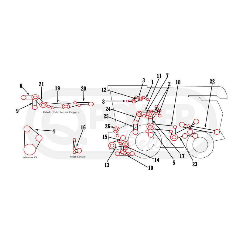 Ih Tractor Parts Diagram. Diagrams. Wiring Diagram Images