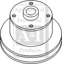 John Deere Water Pump Pulley T23628