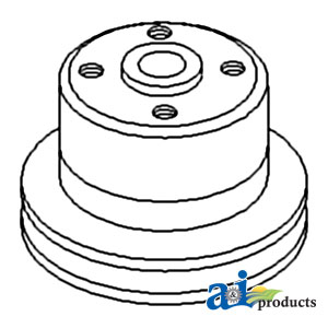 Ford Water Pump Pulley SBA145336540