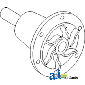 Massey Ferguson Water Pump 1005011M91