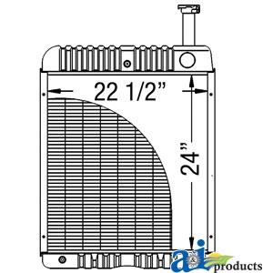 Case-IH Radiator 121725C1