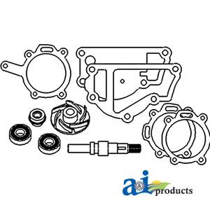 Renault Water Pump Repair Kit 6005000154