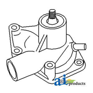 White, Oliver, Minneapolis Moline Water Pump 676640AS
