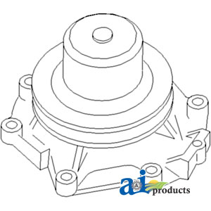 Ford Water Pump DHPN8A513A, 8508BB, E1NN8A513G